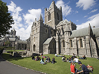Christ Church   Cathedral & Dublin Castle